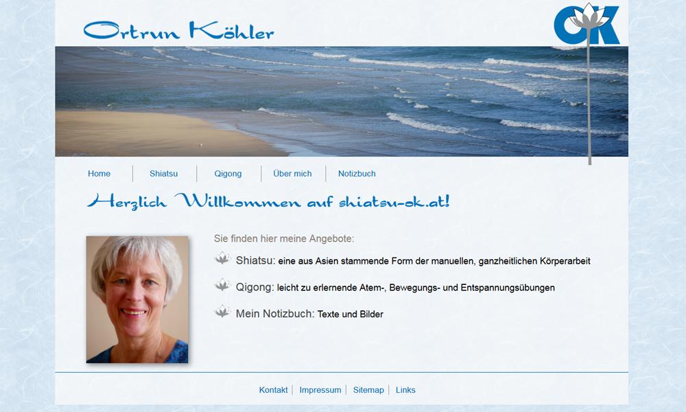 Ortrun Köhler Shiatsu Therapeutin